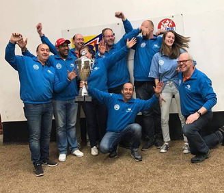 Club de petanque Les Cailloux landskampioen..!!